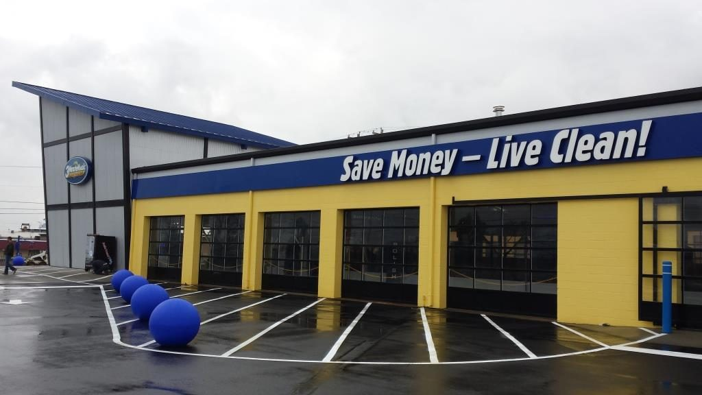 3 minute magic to open revolutionary car wash on the for Airport motor mile used cars